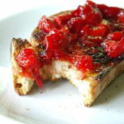 toast strawberry jam